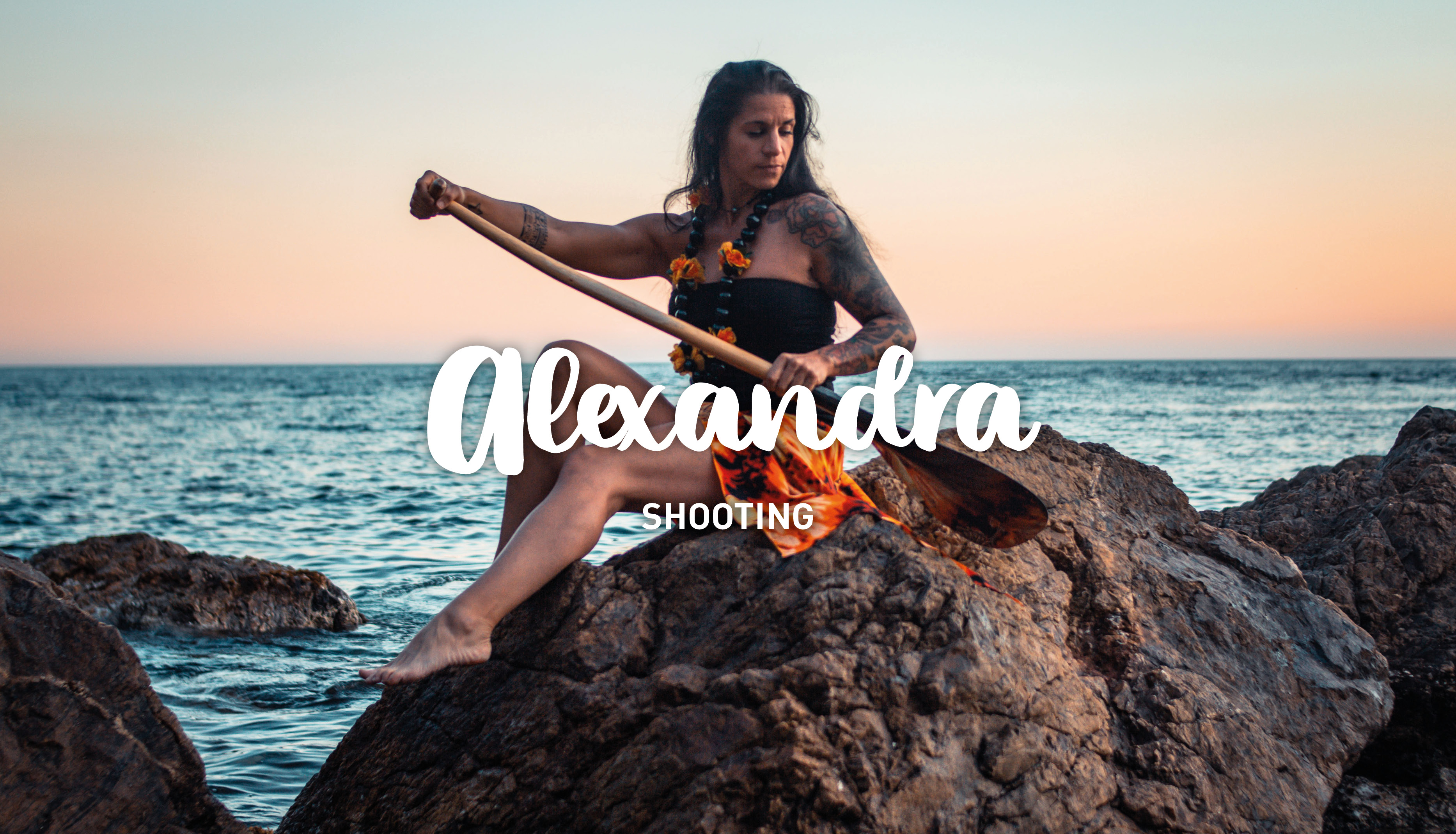 shooting with Alexandra