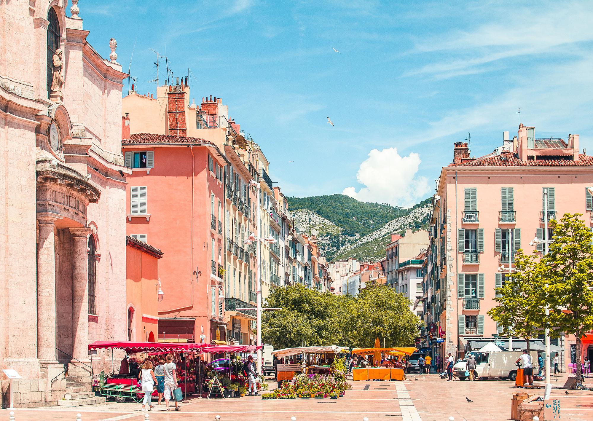 Toulon centre