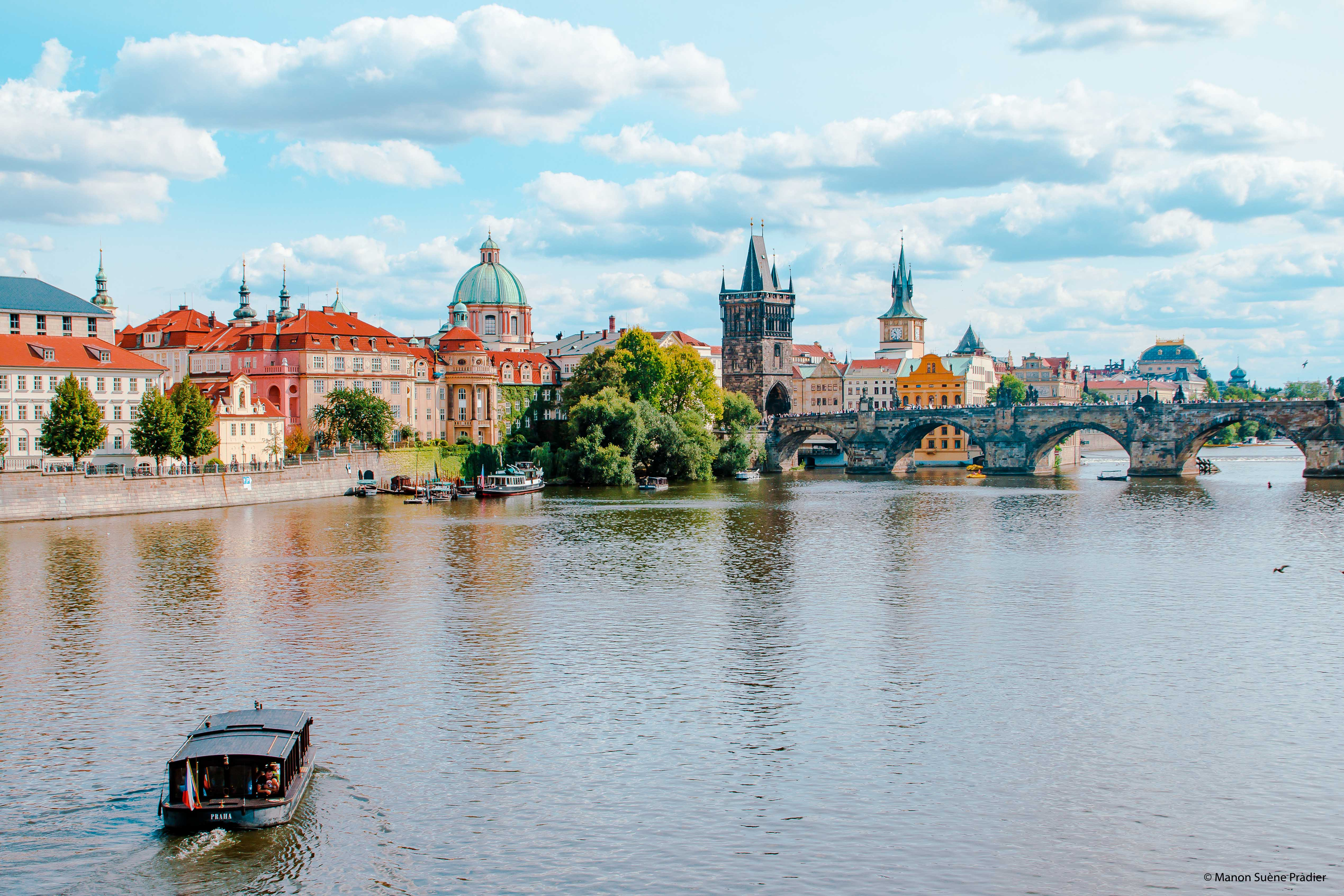 Prague to the Thousand steeples