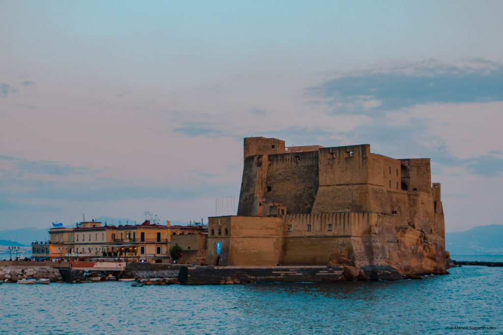 Castel Dell'ovo Port Borgo Marinari Naples