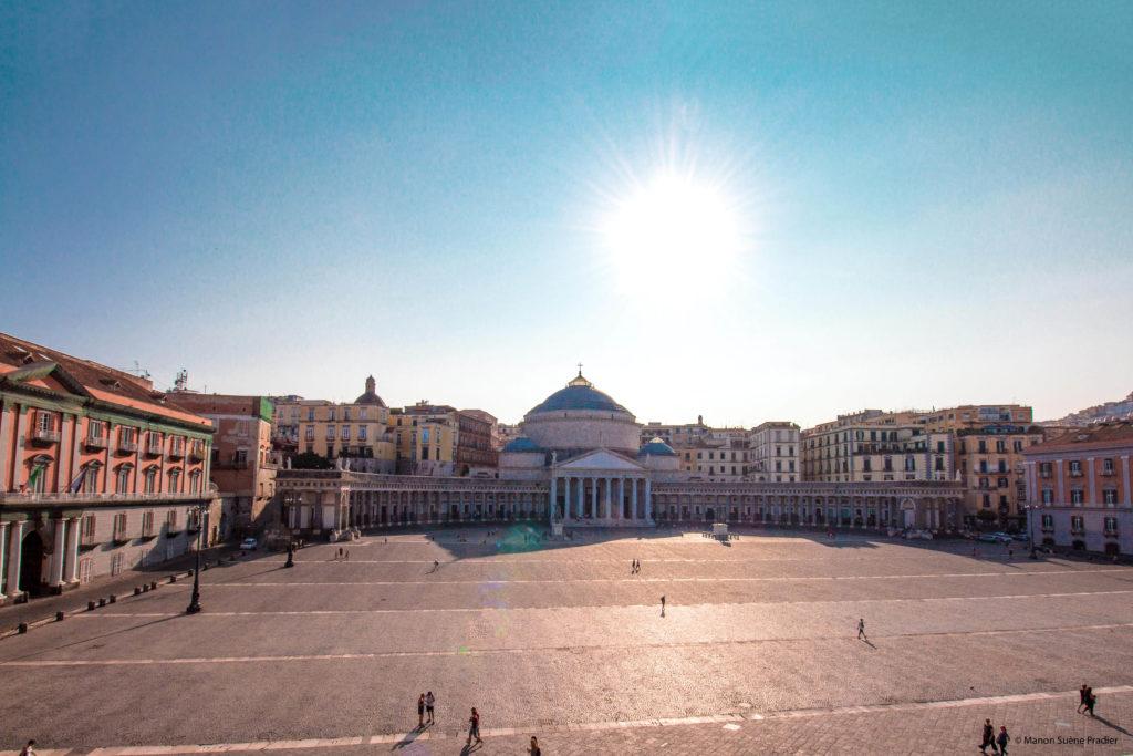 Piazza del Plebiscito naples