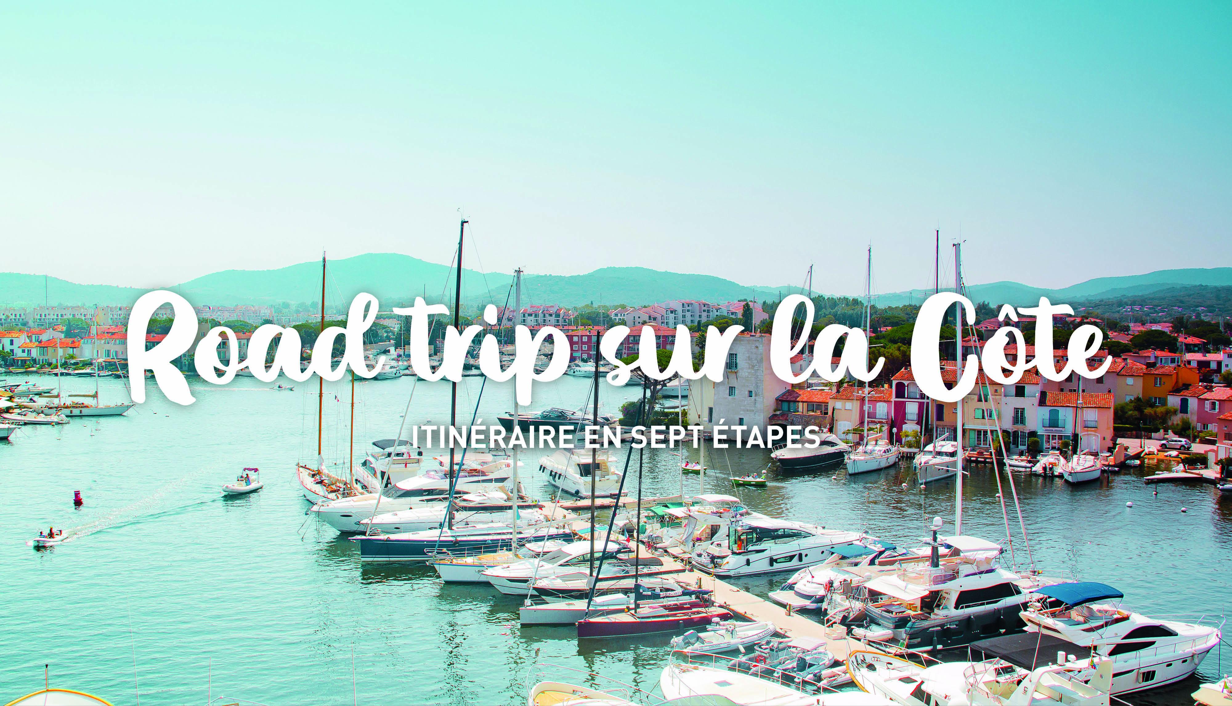 Road trip sur la côte d'azur: de Marseille à Menton
