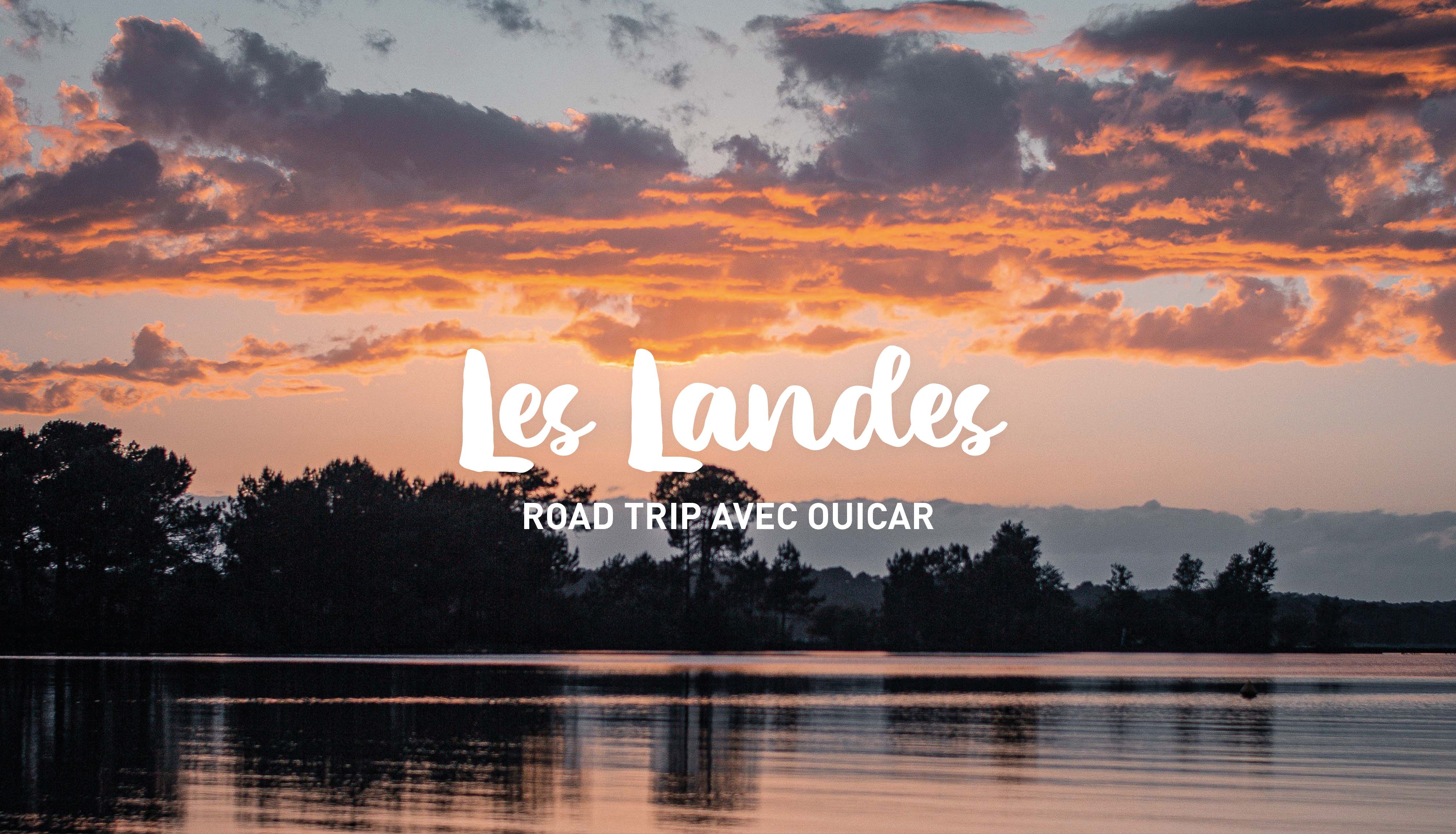 Road trip in the Landes
